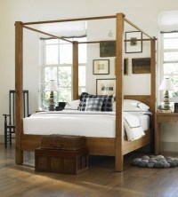 Canopy Bed - Light (queen) with White Glove Delivery ($375 ...