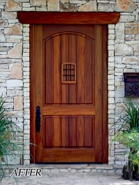 Large 48 x 96 Front Entry Door