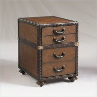 Henry Link Madrid Leather 3 Drawer File Chest in Pullman ...