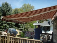Awnings Retractable and Fixed & Sunshades - Traditional ...