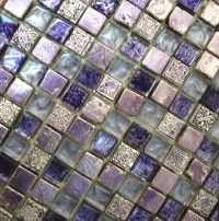 Purple Haze Glass Mosaic Tile - Mosaic Tile - toronto - by ...
