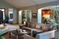 Modern Rustic Living Room - Modern - Living Room - salt ...