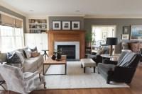 Lake Elmo Cape Cod - Beach Style - Living Room ...