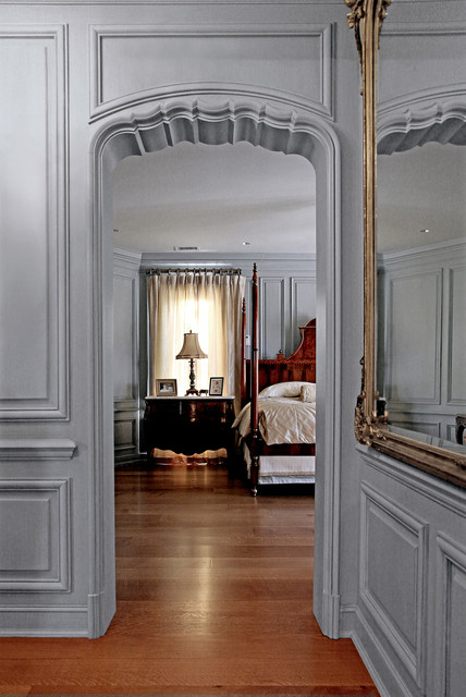 French paneling  Traditional  Hall  dallas  by Hull Historical