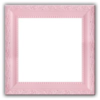 Baby Light Pastel Pink Solid Wood Photo, Picture Frame ...
