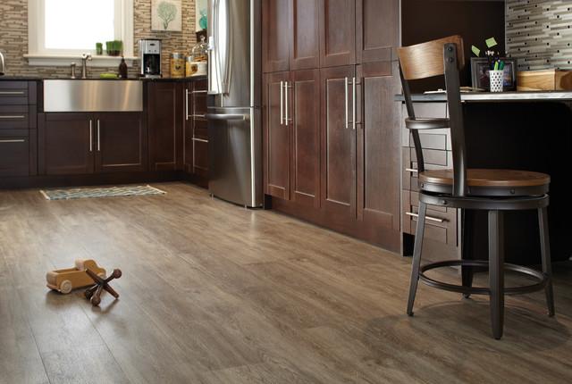 Luxury Vinyl Flooring Tile LVT  Planks LVP  Modern  Kitchen  toronto  by FloorsFirst Canada