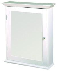 Zenith WW2026 Classic White Swing Door Medicine Cabinet ...