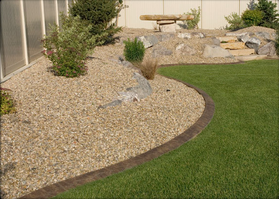 gravel and stone - traditional