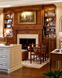 W keeping room - Traditional - Family Room - nashville ...