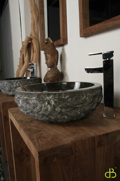 flush kitchen lighting aid tv offer hand carved granite washbasin - tropical bathroom sinks ...