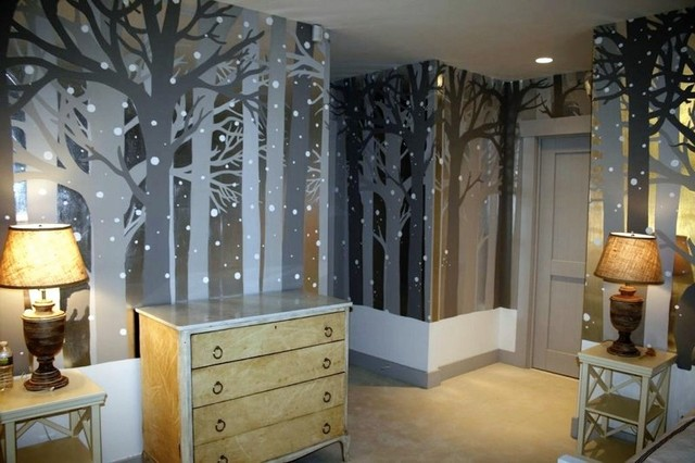 Kids Room In Vermont Ski Home Contemporary Kids New