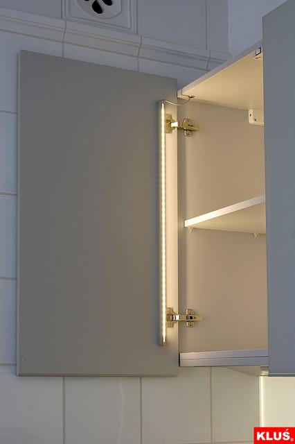 LED Kitchen Cabinet Interior Lighting  Modern  Kitchen