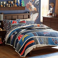 NFL Quilt, AFC - Contemporary - Kids Bedding - by PBteen