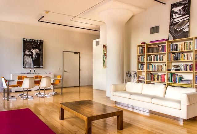 Downtown LA Condos  Contemporary  Living Room  los