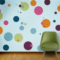 Polka Dot Circle Wall Stencils for Painting - Contemporary ...