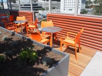 San Diego High-Rise Aparment Rooftop - Modern - Patio ...