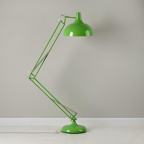 Giant Green Floor Lamp