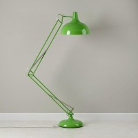 Giant Green Floor Lamp