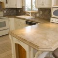 Concrete kitchen countertop contemporary