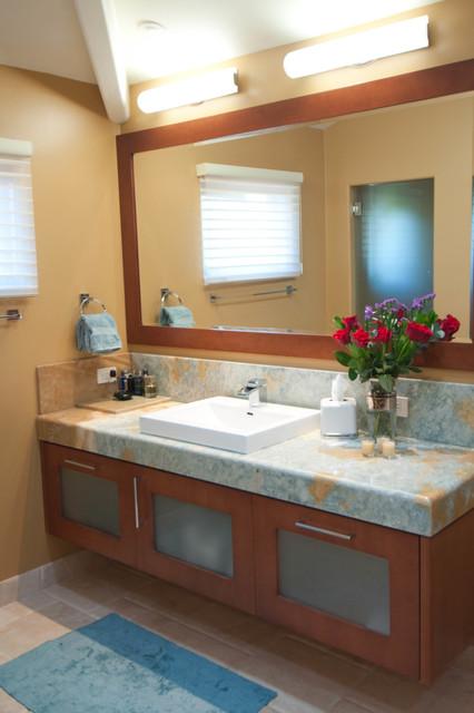 Ranch Santa Fe Remodel  Contemporary  Bathroom  san diego  by DRP International Design Inc