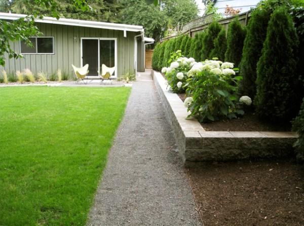 mid century ranch patio & pavers