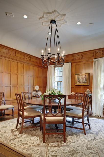 Distinctly English  Traditional  Dining Room  new york