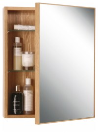 Wireworks Natural Oak Slimline Cabinet 550 - Modern ...