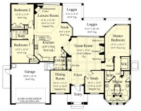"Sater Design Collection's 6758 ""Toscana"" Home Plan ..."