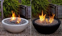 Outdoor Ventless Fire Bowl - Contemporary - other metro ...