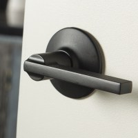 Schlage Plymouth Style Privacy Latitude Lever in Matte ...
