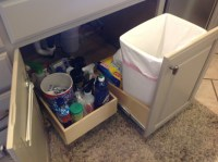 Pull Out Trash Bin - Kitchen Drawer Organizers - other ...
