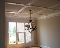 Coffered Ceiling Dining Design Ideas, Pictures, Remodel ...