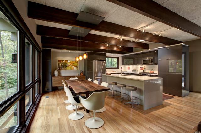 Narrow L Shaped Kitchen