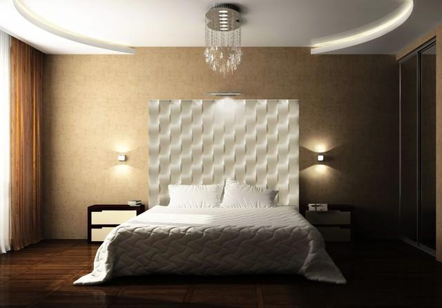 BREAKERS BEDROOM  Contemporary  Bedroom  miami  by 3DWALLSCOM STUNNING PLASTER WALL PANELS