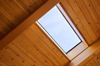What is the ceiling board, 2x6 pine v-groove panels? Thx.