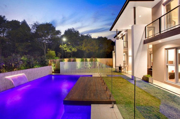 modern pool design - contemporary