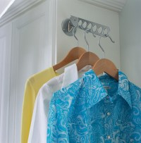 Laundry Room Valet Rod - Contemporary - other metro - by ...