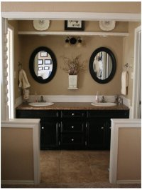 Tan Wall Bathroom Design Ideas, Pictures, Remodel and Decor