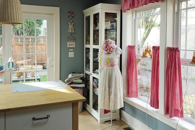 Alicias Studio eclectic home office