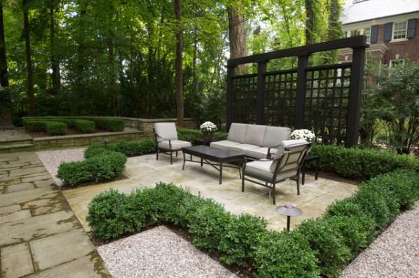 formal garden traditional-patio