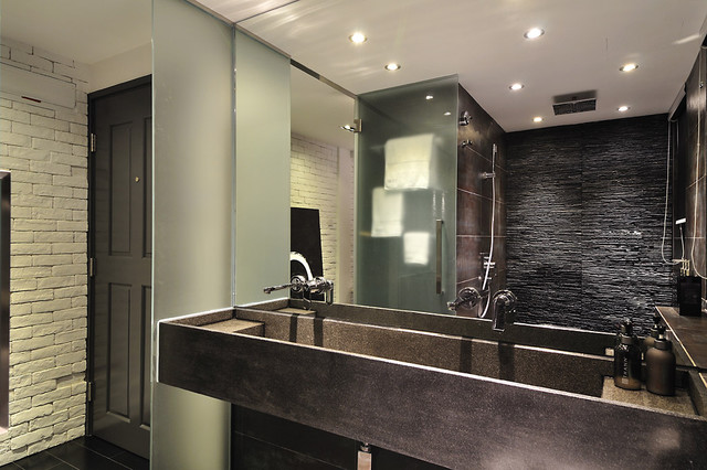 Minimal zen bathroom  Modern  Bathroom  hong kong  by