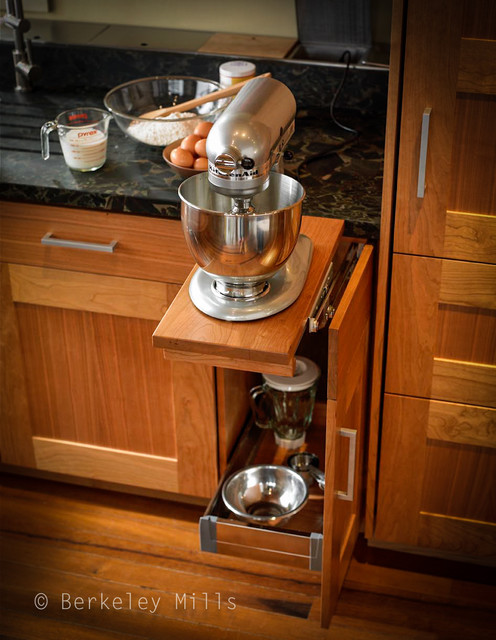 Mixer Storage Contemporary Kitchen Other Metro By