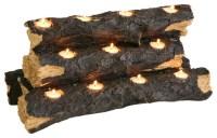 Sierra Tealight Fireplace Log