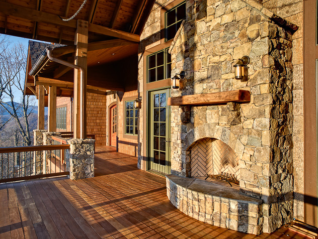 Outdoor Oasis traditional-porch