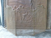 Antique French fireplace screens - Traditional - Fireplace ...