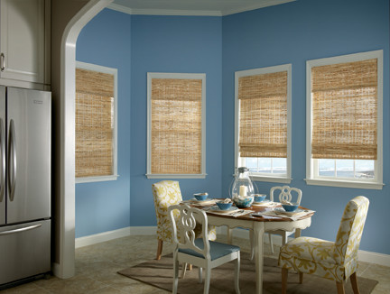 Bali Deluxe Woven Wood Shades from Blindscom