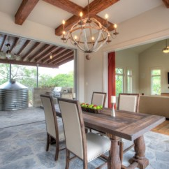 Chairs At Pier One Santa Hat Chair Covers Diy Urban Farm House - Farmhouse Dining Room Austin By Joubert Design Build