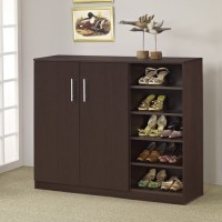 Grande Multi-Purpose & Shoe Cabinet - Walnut - Modern ...
