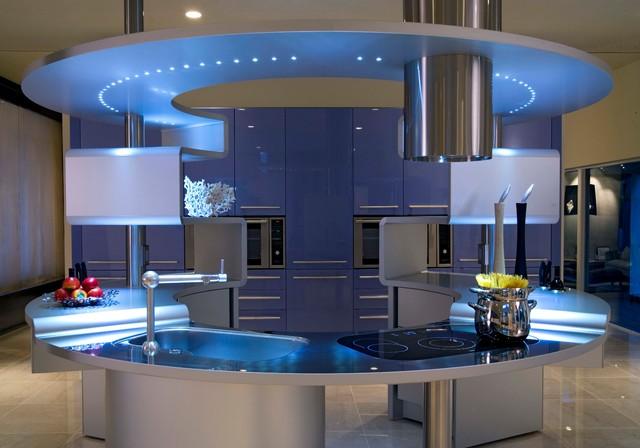 Acropolis and Ola Installation Wisconsin  Modern  Kitchen  other metro  by Snaidero USA