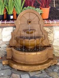 Patio Water Fountain Idea